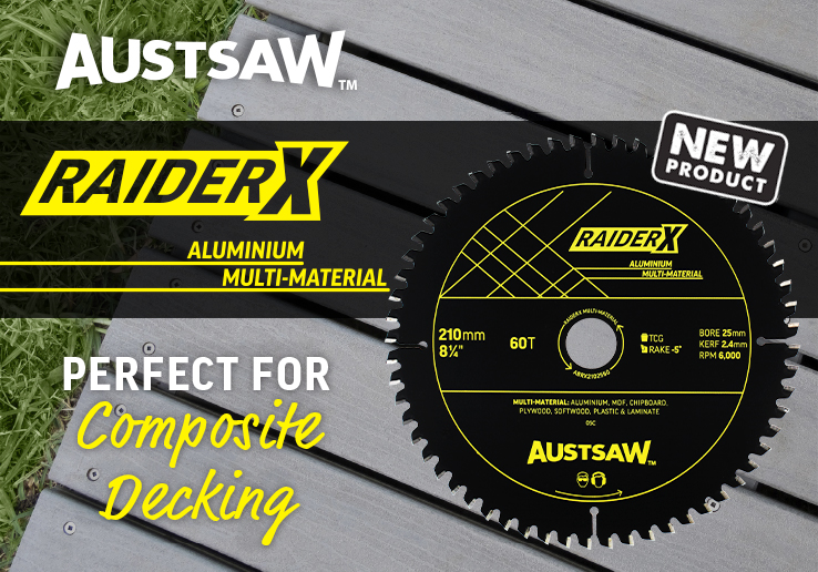 Austsaw Multi Material Blade | Perfect for Composite Decking