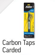 Carbon Taps - Carded