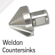 Weldon Countersinks