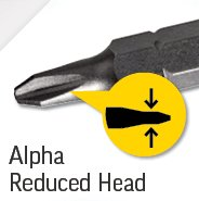 Alpha Reduced Head