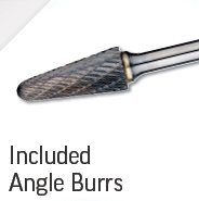 Included Angle Burrs