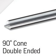 90 Degree Cone Double Ended