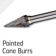 Pointed Cone Burrs