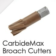 CarbideMax Broach Cutters