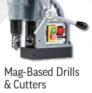 Mag-Based Drills and Cutters