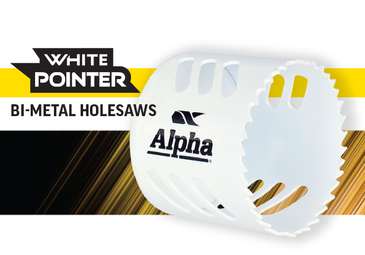 Alpha White Pointer Bi-Metal Holesaws