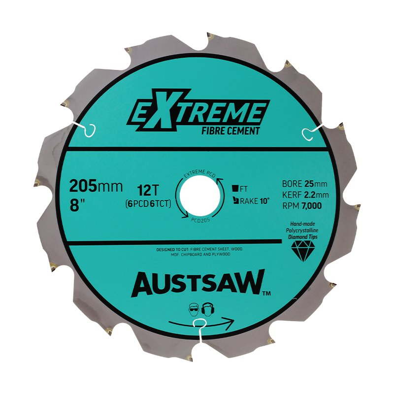 Austsaw 205mm 8in polycrystalline diamond blade 25mm bore austsaw 205mm 8in polycrystalline diamond blade 25mm bore 6pcd 6tct tee keyboard keysfo Choice Image