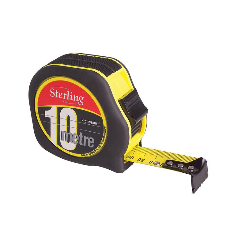 10m/33ft x 25mm Professional Tape Measure