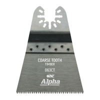 Coarse Tooth 63mm - Timber Multi-Tool Blade - 3 Pack