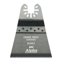 Coarse Tooth 63mm - Hardwood Multi-Tool Blade - 3 Pack