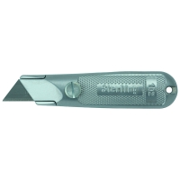 Ultra-Lap Silver Fixed Knife w/Thumlock - Carded
