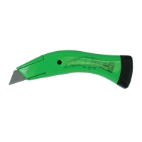 Green Quick Change Fixed Knife