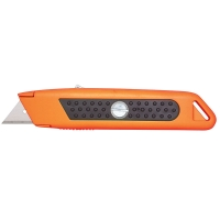 Auto-Retracting Knife with Thumlock