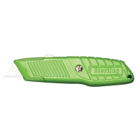 Carded Ultra Grip Retractable Lime Knife