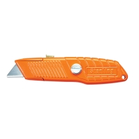 Orange Ultra-Grip Safety Knife + Thumlock