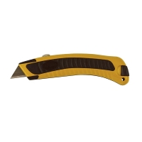 Yellow/Black Rhino Grip Retractable Knife
