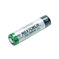 Nextorch Rechargable Li-ion Battery 2600mAh 3.7V