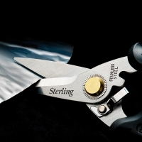 185mm Black Panther Industrial Snips: Rounded Tip
