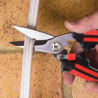 185mm Ultimax Pro Black Panther Gen II: Rounded Tip Industrial Snips