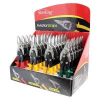 Sterling Aviation Snip 24pcs Counter Display Mixed (6 x L,6 x R, 12 x S)