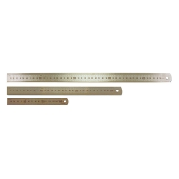 450mm/18in Stainless Steel Ruler - Metric/Imperial