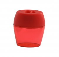 Double Hole Barrel Canister Sharpener
