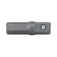 Adapter 1/4in Hex - 1/4in Sq x 25mm