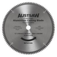 Austsaw - 300mm (12in) Aluminium Blade Triple Chip - 25.4mm Bore - 100 Teeth