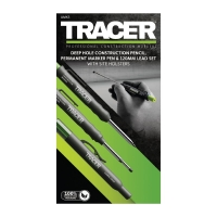 TRACER | Complete Marking Kit with Pencil, Marker and Lead Set