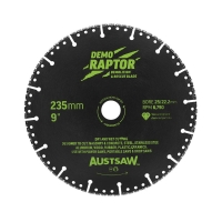 235mm (9in) - RESQ Diamond Rescue & Demolition Blade