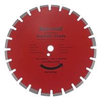 Austsaw - 400mm(16in) Diamond Blade Segmented Asphalt - 25.4/20mm Bore - Asphalt