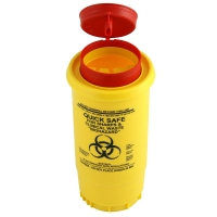 0.5 litre 1Kg Sharps Disposal Container
