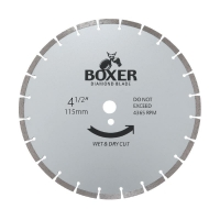 Austsaw/Boxer - 115mm (4.5in) Diamond Blade Boxer Segmented - 22.2mm Bore - Segm
