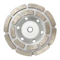 Austsaw/Boxer - 103mm (4in)   Diamond Cup Wheel Boxer  Double Row - M10 Thread B