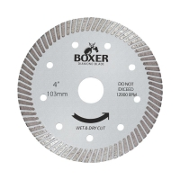 Austsaw/Boxer - 103mm (4in) Diamond Blade Boxer Ultra Thin - 16mm Bore - Ultra T