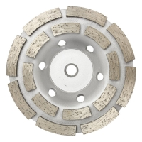 Austsaw/Boxer - 125mm (5in)   Diamond Cup Wheel Boxer Double Row - M14 Thread Bo