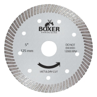 Austsaw/Boxer - 125mm (5in) Diamond Blade Boxer Ultra Thin - 22.2mm Bore - Ultra