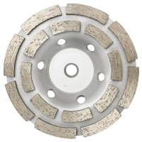 Austsaw/Boxer - 185mm (7in)   Diamond Cup Wheel Boxer  Double Row - M14 Thread B