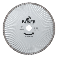 Austsaw/Boxer - 185mm (7in) Diamond Blade Boxer Super Turbo Wave - 22.2/20mm Bor