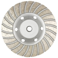 Austsaw/Boxer - 185mm (7in)   Diamond Cup Wheel Boxer  Turbo Row - M14 Thread Bo