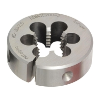 Carbon Button Die MF - 8.0 x 1.00-1OD - Carded