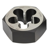Chrome Die Nut BSW-3/8 x 16-carded