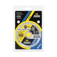 Carded (x10) 100 x 1.0mm Cutting Disc - Stainless Gold Series II