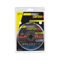 Carded (x2) 100 x 6.0 Grinding Disc - Metal Gold Series