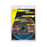 Carded (x2) 125 x 6.0 Grinding Disc - Metal Gold Series