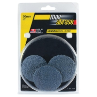 Carded 5 Pack: Mini Grinding Disc R Type Zirconia - 50mm x Z80