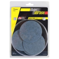 Carded 5 Pack: Mini Grinding Disc R Type Zirconia - 75mm x Z80