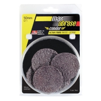 Carded 5 Pack 50mm x 36 Resin Fibre Disc R Type Ceramic Grit
