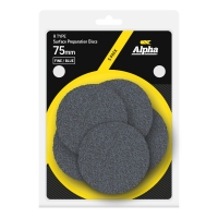 Carded 5 Pack 75mm Surface Prep Disc R Type Fine - Blue