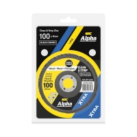 Carded Single Pack 100mm Surface Preparation  Clean & Strip Disc Black Coarse